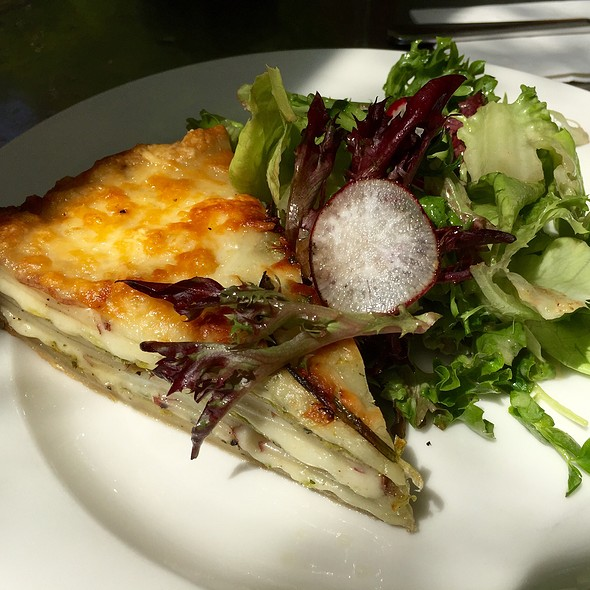 Potato, Leek, And Gruyere Cheese Tart