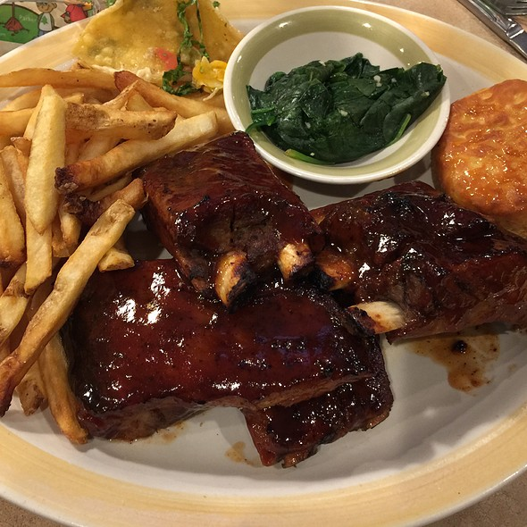 Stacked Apple Bbq Ribs @ 99 Restaraunt