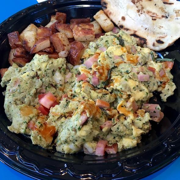 Greens, Eggs and Ham @ Joe's Farm Grill