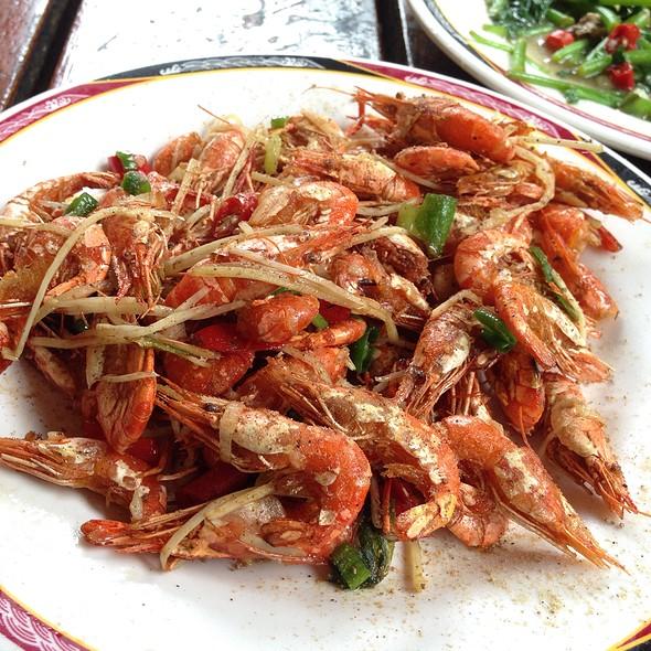 香酥河蝦 @ 山宾餐厅