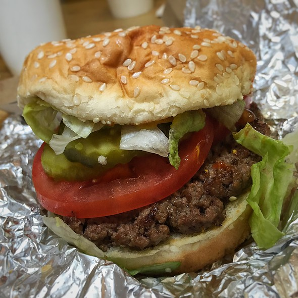 Little Hamburger @ Five Guys Burgers And Fries