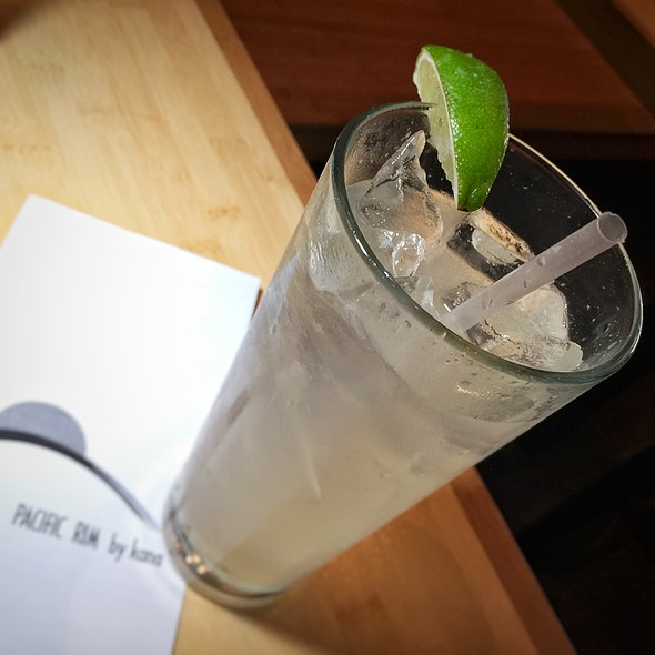 Ginger Lime Soda @ Pacific Rim by Kana