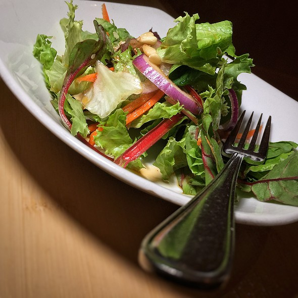 Side Salad @ Pacific Rim by Kana