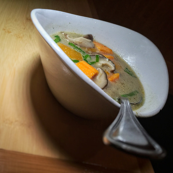 Green Curry Soup @ Pacific Rim by Kana