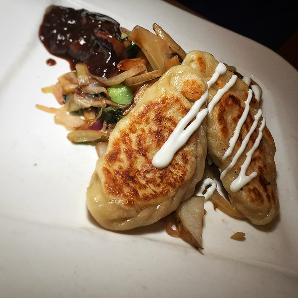 Goat Cheese Pierogies @ Pacific Rim by Kana