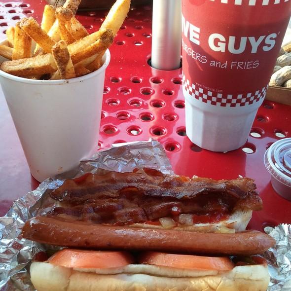 Bacon Dog @ Five Guys