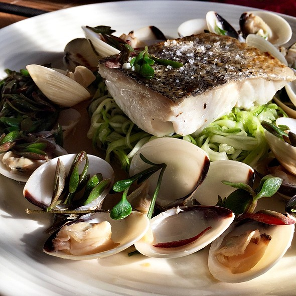 Hake & Clams With Purslane @ Little Venice Country Park