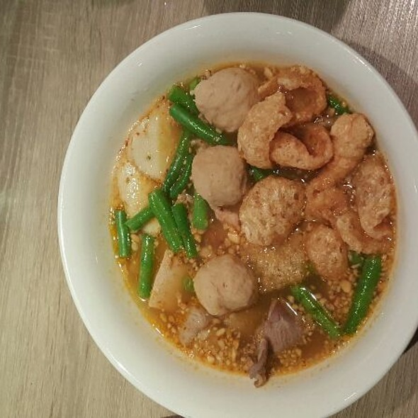 Sukhothai Noodle Soup @ Thaicoon & Sushi Bar