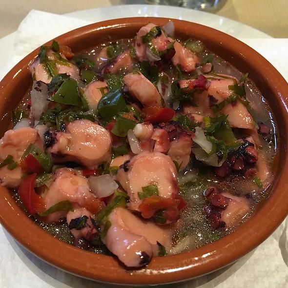 Octopus Salad @ Restaurante Ponta Do Garajau