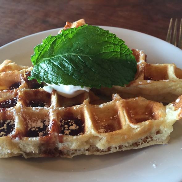 Chocolate Waffle - Le Garage, Sausalito, CA