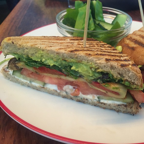 Roasted Vegetable And Avocado Sandwich - Founding Farmers - DC, Washington, DC