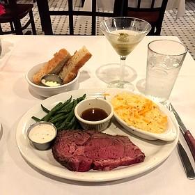 Prime Rib - The Majestic Restaurant, Kansas City, MO