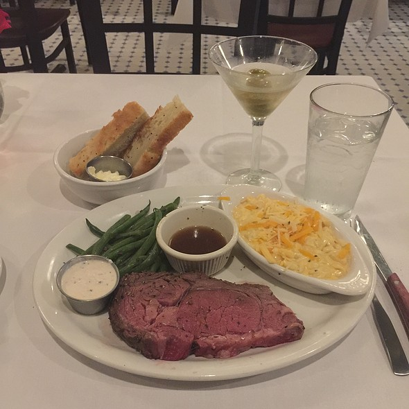 Prime Rib - The Majestic Restaurant, Kansas City, MO