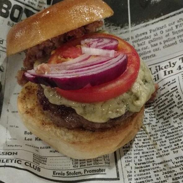 Bacon Jelly Burger @ Buddies Burger & Beer