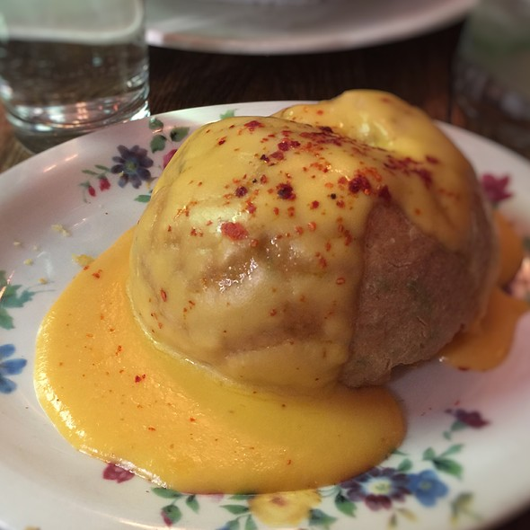 Chive Biscuit Bomb - Tipsy Parson, New York, NY