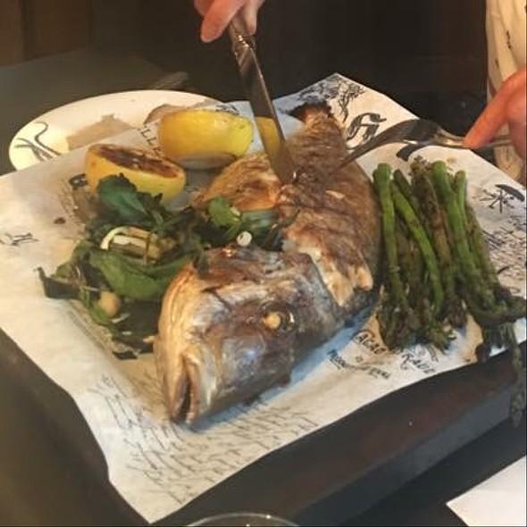 Whole Fish Plate - Cluny, Toronto, ON