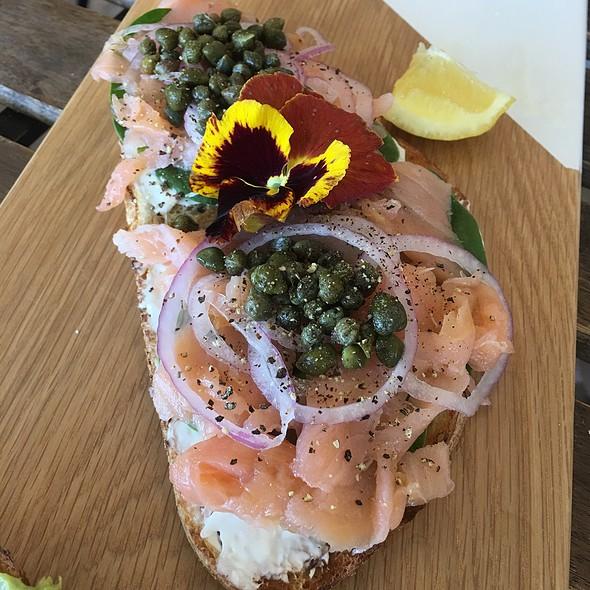 Smoked Salmon Toast @ Arvo Cafe