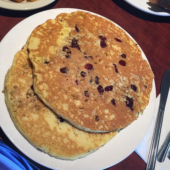 Cranberry Walnut Pancakes @ Eller's Restaurant