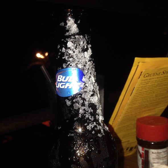 Dressed Budlight @ Gristmill River Restaurant & Bar