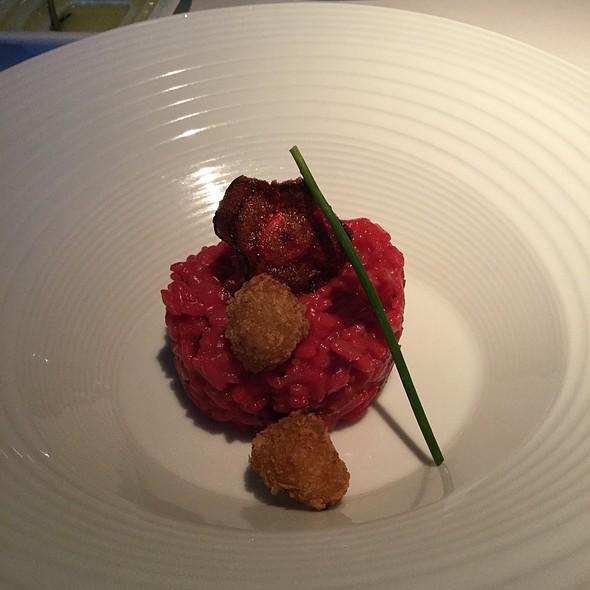 Beet Risotto @ Terra Nostra Garden Hotel Restaurant