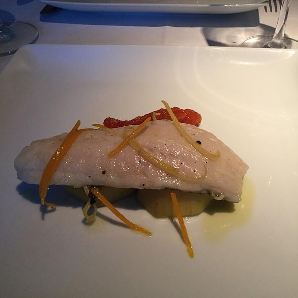 Chef's Fish Creation @ Terra Nostra Garden Hotel Restaurant