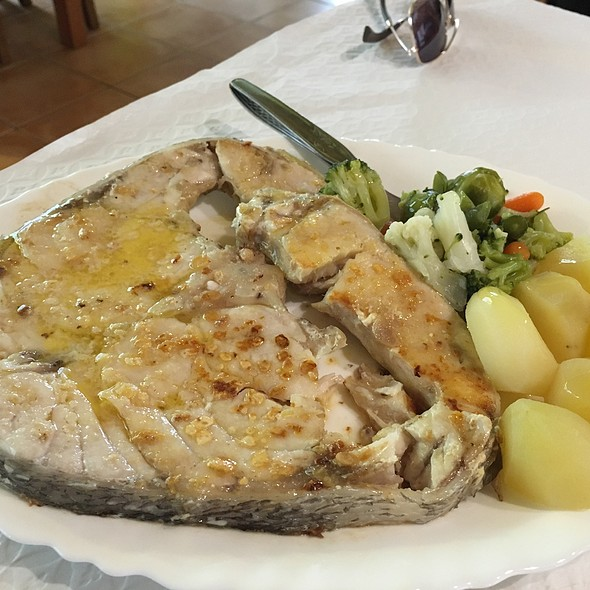 Wreckfish @ Restaurante Banhos Ferreos