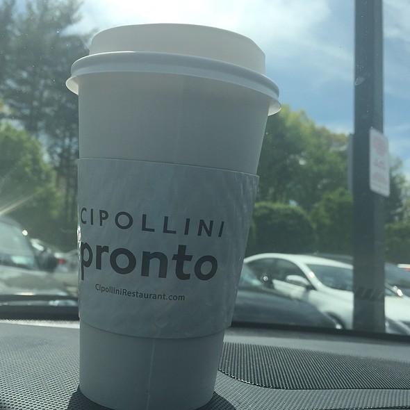Hazelnut Coffee - Cipollini Trattoria and Bar, Manhasset, NY