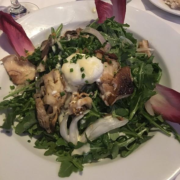 Mushroom Salad @ Eddie V's Prime Seafood