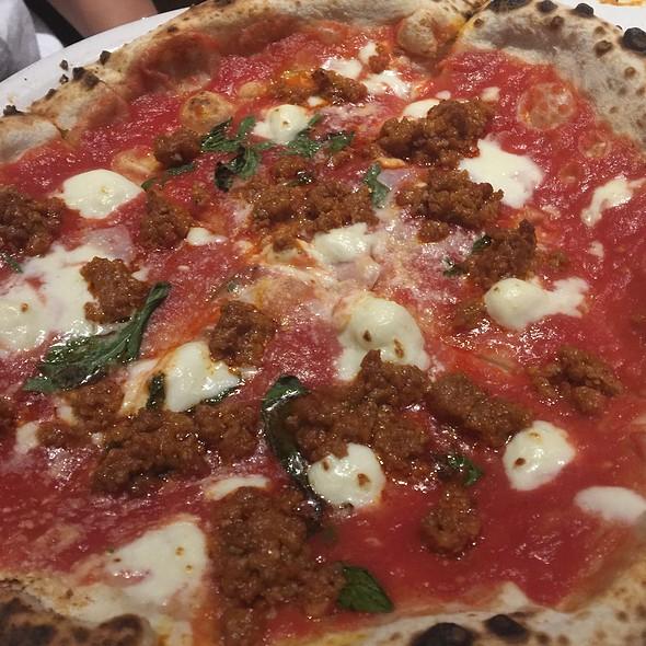 Spicy Sausage Pizza @ Pizzeria Libretto