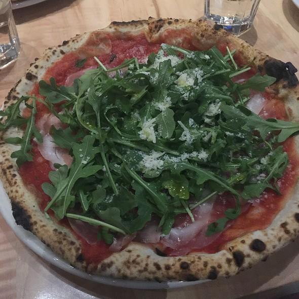 Prosciutto and Arugala Pizza @ Pizzeria Libretto
