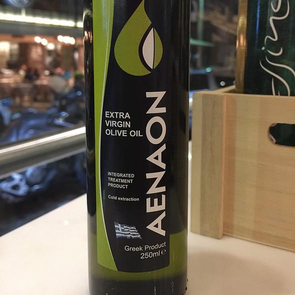 Extra Virgin Greek Olive Oil @ Bar Pastourma