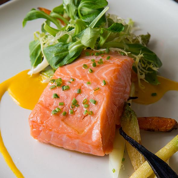 Slow Roasted Salmon @ Paramour at Wayne Hotel
