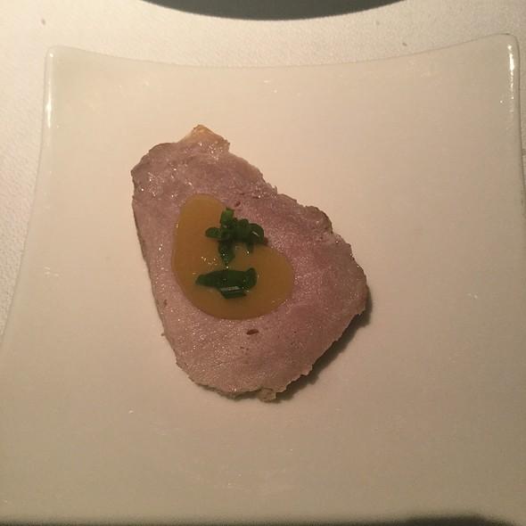 Pork With Honey Mustard Amuse Bouche @ Terra Nostra Garden Hotel Restaurant
