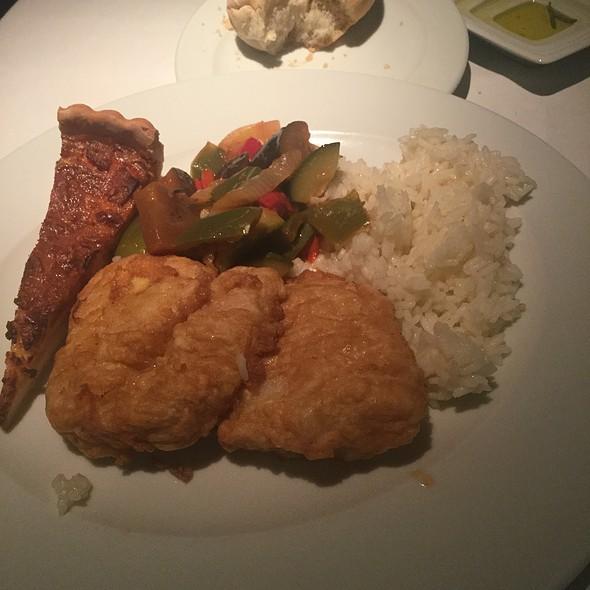 Fried Local Fish @ Terra Nostra Garden Hotel Restaurant