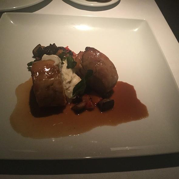 Chicken With Chorizo Stuffing @ Terra Nostra Garden Hotel Restaurant