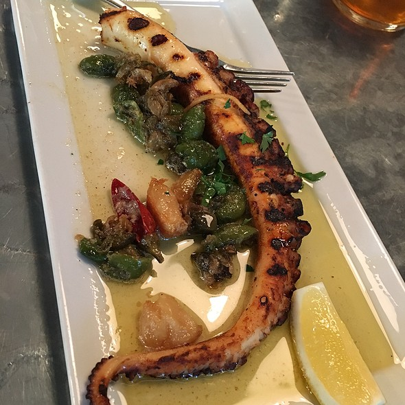 Grilled Spanish Octopus @ Tasty n Alder
