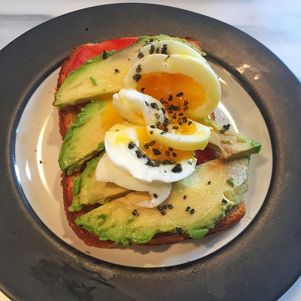 Egg, Avocado And 6-Minute Egg @ Boston Home