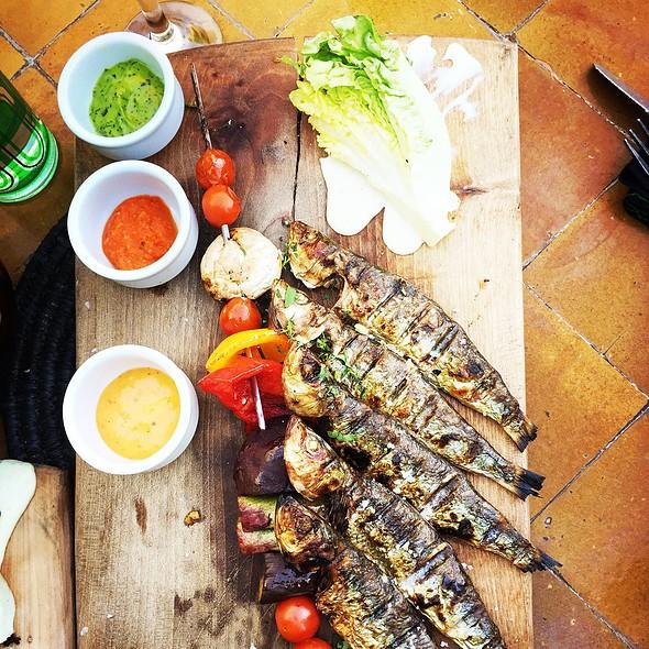 Grilled Sardines @ Le Jardin