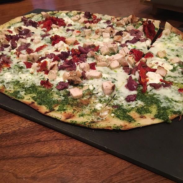 Pesto Flatbread Pizza - Max Brenner - Philadelphia, Philadelphia, PA