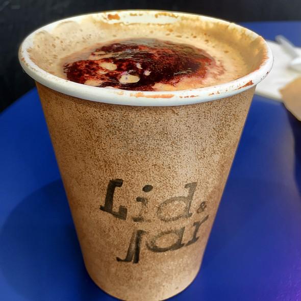 Cappuccino @ Lid & Jar - Rhodes
