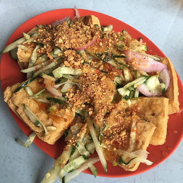 Deep Fried Tofu Thai Style เต้าหู้ทอด @ Restoran Tmn. Million Batu Tiga