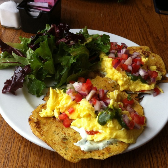 Indian Style Tacos With Scrambled Eggs @ Frankly Eatery