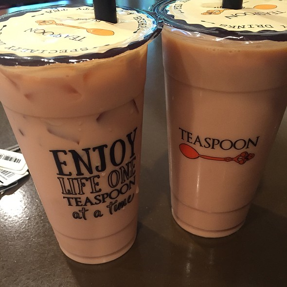 Sweet Marshmallow Milk Tea @ Teaspoon