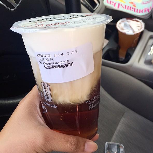 Milk Foam Wintermelon  @ Gong Cha Fremont