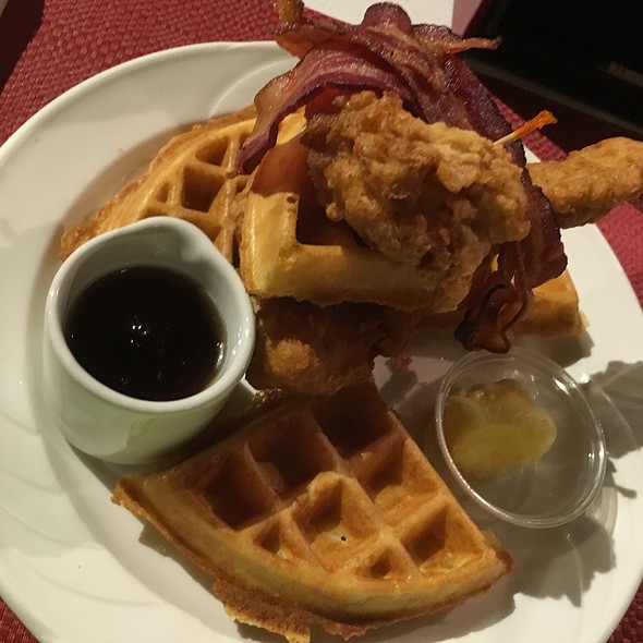 Chicken and Waffles @ Grand Café