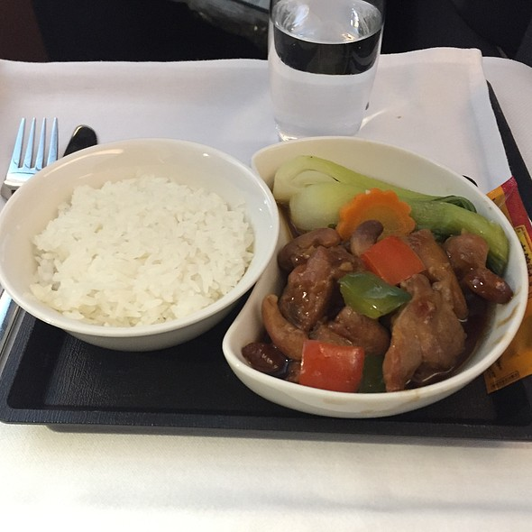 Kung Po Chicken @ Cathay Pacific