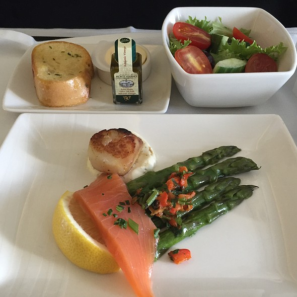 Herb Smoked Salmon @ Cathay Pacific