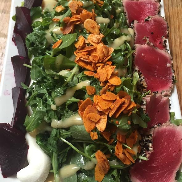 Truffled Beet Salad W/ Ahi @ Umami Burger
