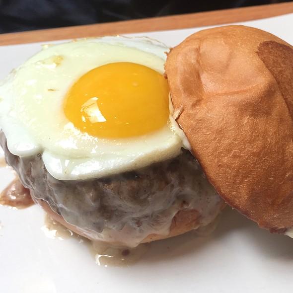 Truffle Burger W/ Egg @ Umami Burger
