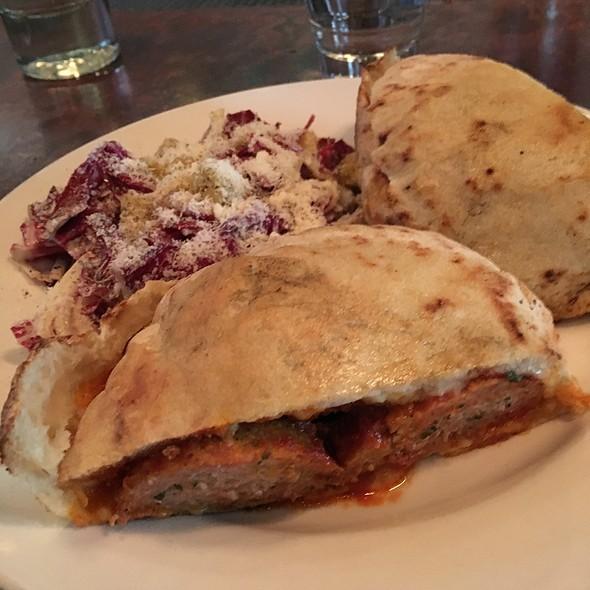 Meatball Pita Sandwich @ Oven And Shaker